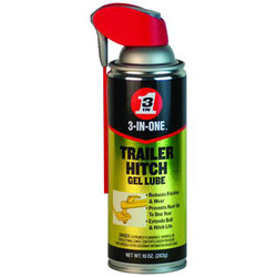 WD-40  3-IN-ONE  Trailer Hitch Lubricant  10 oz.