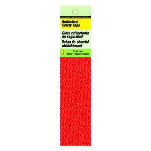 Hy-Ko  6 in. Rectangle  Red  Safety Tape