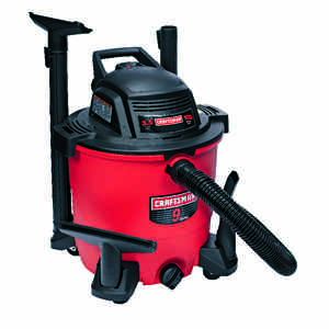 Craftsman  9 gal. Corded  Wet/Dry Vacuum  3.5 hp 8.2 amps 120 volt Red  16.1 lb.
