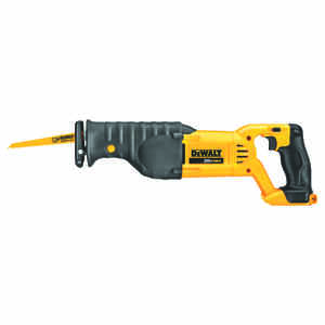 DeWalt  MAX  1-1/8 in. Cordless  20 volts 3000 spm Reciprocating Saw