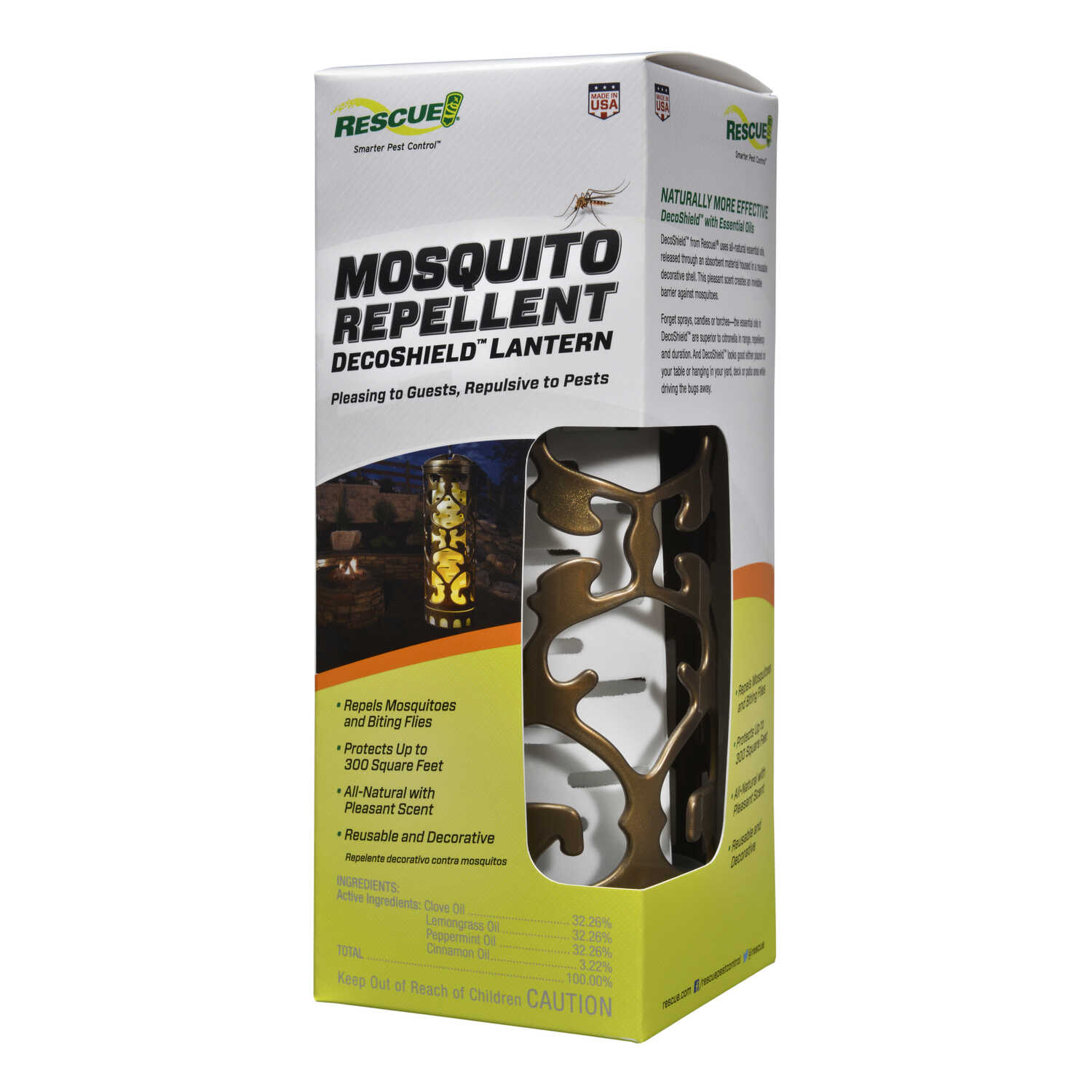 RESCUE  Insect Repellent Device  For Mosquitoes 1 pk