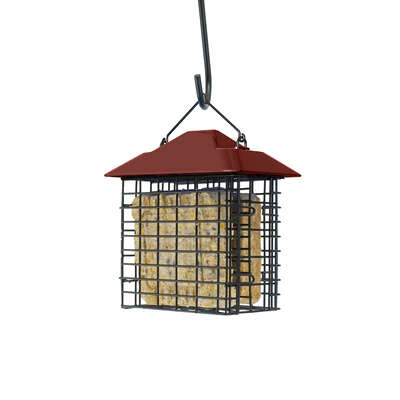 Woodlink  Metal/Plastic  Double Suet Basket