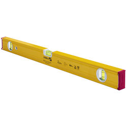 Stabila 24 in. Aluminum Type 80 AS-2 Box Beam Level 3 vial
