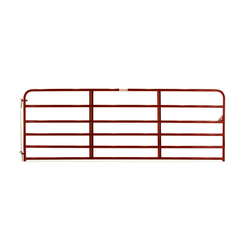 Tarter  50 in. H x 1.75 in. W 12 ft. Steel  Tube Gate