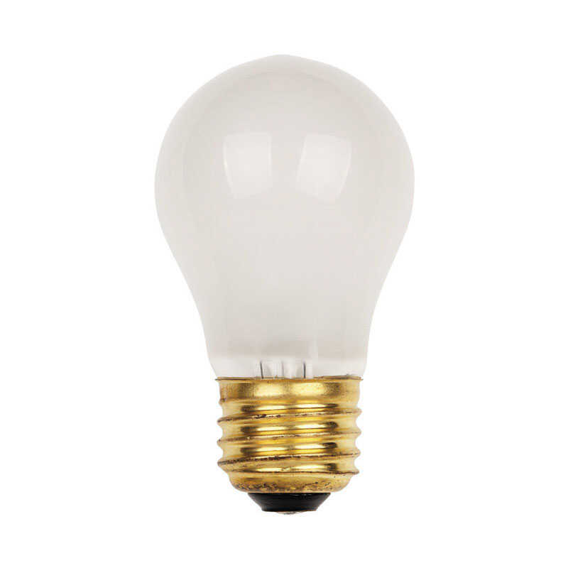 Westinghouse  25 watts A15  Appliance  Incandescent Bulb  E26 (Medium)  White  1 pk