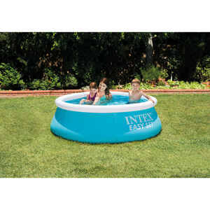 Intex  232 gal. Round  Plastic  Above Ground Pool  20 in. H x 72 in. W x 6 ft. Dia.