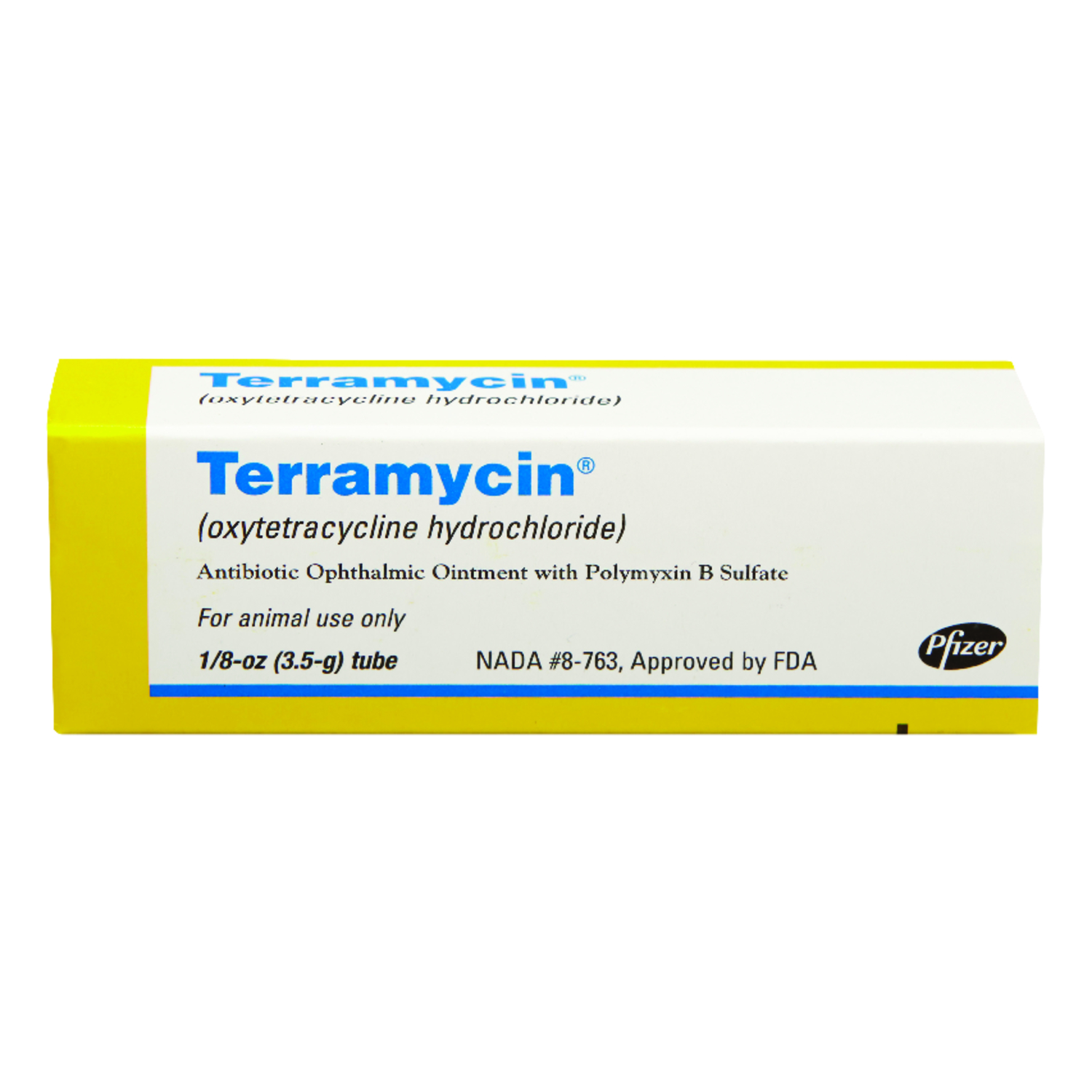 Terramycin  Ointment  Antibiotic Opthalmic Ointment  For All Animals