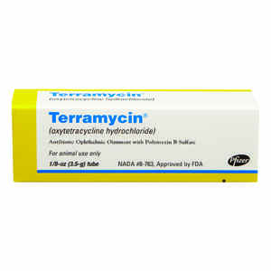 Terramycin  Antibiotic Opthalmic Ointment  For All Animals