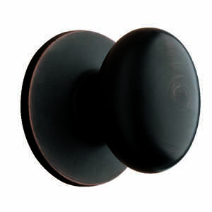 Ace  Egg  Oil Rubbed Bronze  Steel  Dummy Knob  3  Right or Left Handed