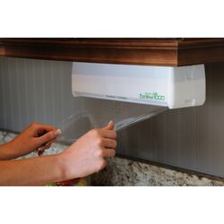 E-ZEE Wrap  Plastic Wrap Dispenser  1 pk White