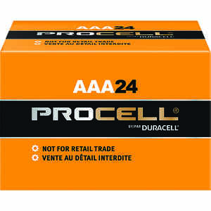 Duracell  ProCell  AAA  Alkaline  Batteries  24 pk Boxed