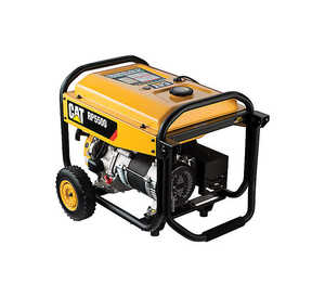 CAT  Yellow  Generator  5500 watts