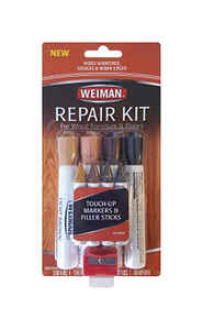 Weiman  No Scent Wood Furniture and Floor Repair Kit  9 oz. Stick