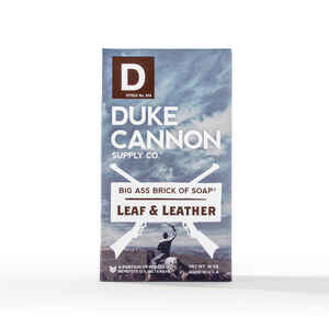 Duke Cannon  Leaf & Leather Scent Bar Soap  10 oz.