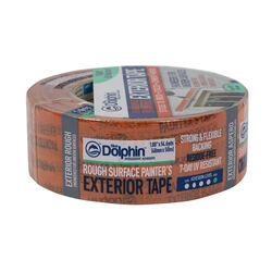 Blue Dolphin 1.88 in. W x 54.6 yd. L Orange High Strength Exterior Painter's Tape 1 pk