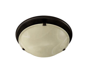 Broan  80 CFM 2.5 Sones Decorative Ivory Glass Fan and Light