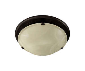 Broan  80 CFM Decorative Ivory Glass Fan and Light  2.5 Sones