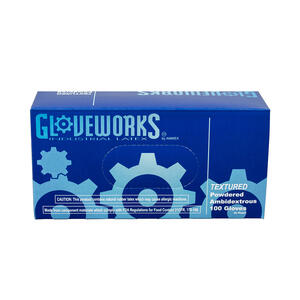 Gloveworks  Latex  Disposable Gloves  XL  Ivory  100 pk