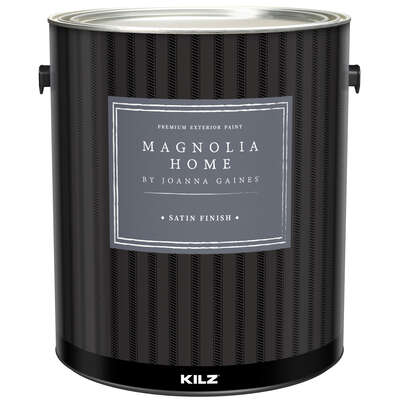 Magnolia Home by Joanna Gaines  Kilz  Satin  Ultra White Base  House & Trim Paint  Exterior  1 gal.