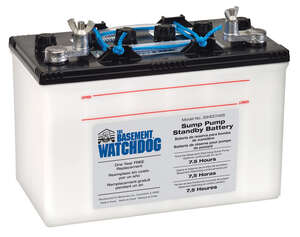 Basement Watchdog  Rechargeable 700 amps Deep Cycle Battery