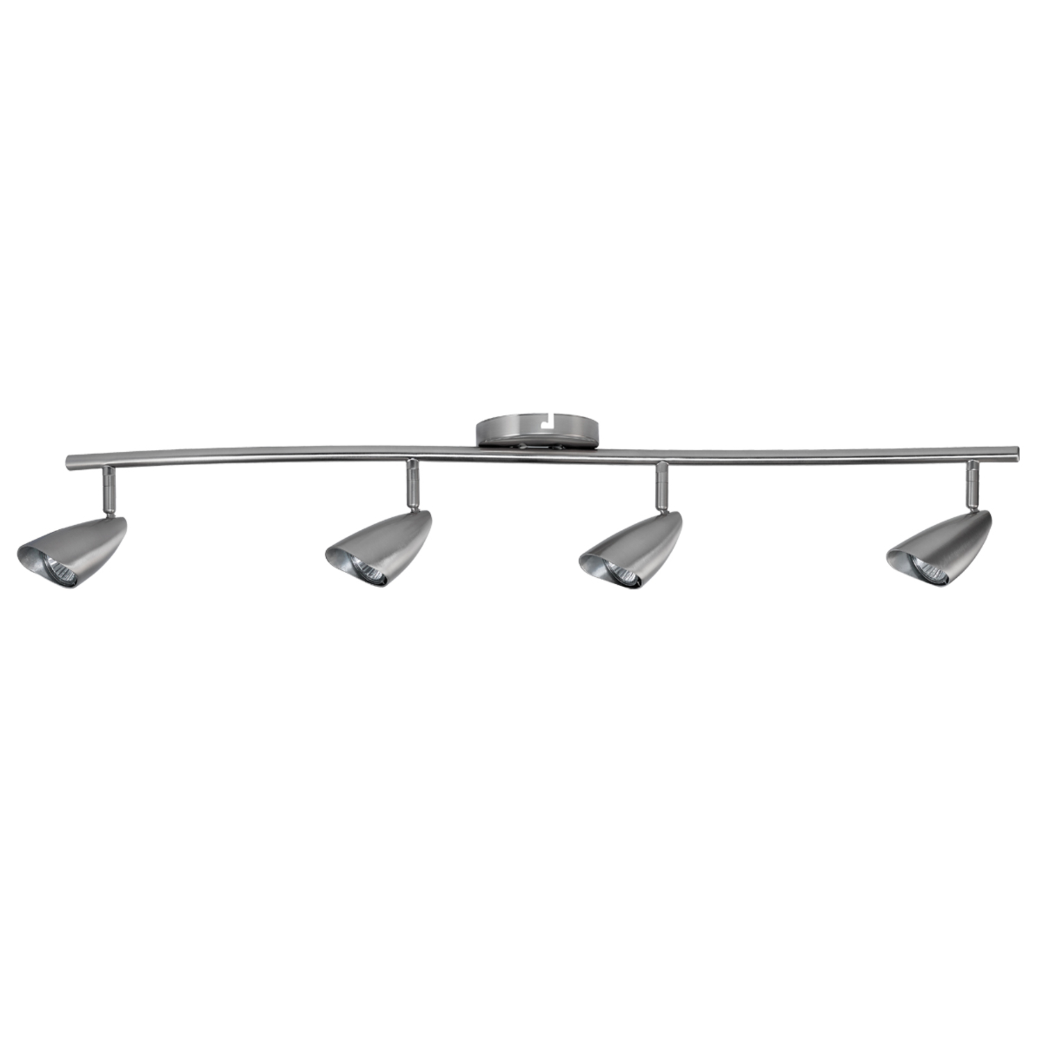 Globe  Brushed Nickel  Silver  4 lights Halogen  Track Light Kit