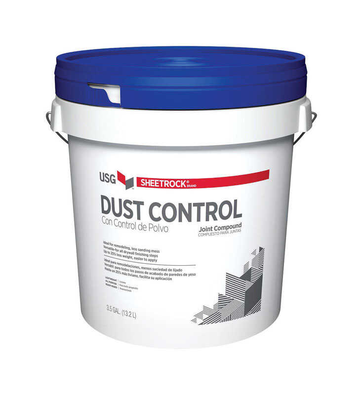 Sheetrock  Off White  Dust Control  Joint Compound  3.5 gal.