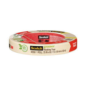 Scotch  .70 in. W x 60 yd. L Tan  Masking Tape  1 pk Medium Strength