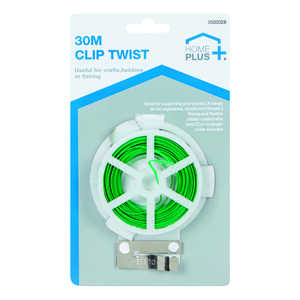 Home Plus  Wire Tie Tree Supports  Green  Steel