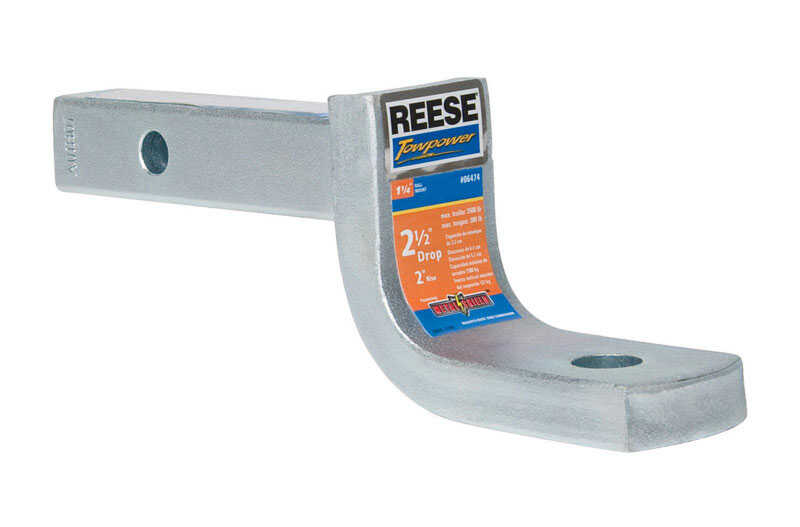 Reese  Towpower  Galvanized Steel  Locking  3/4 in. 7 in. Ball Mount Lock
