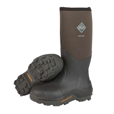 The Original Muck Boot Company  Wetland  Men's  Boots  7 US  Brown