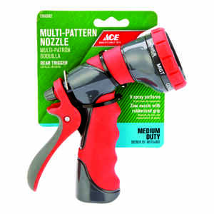 Ace  8-Pattern  Metal  Hose Nozzle