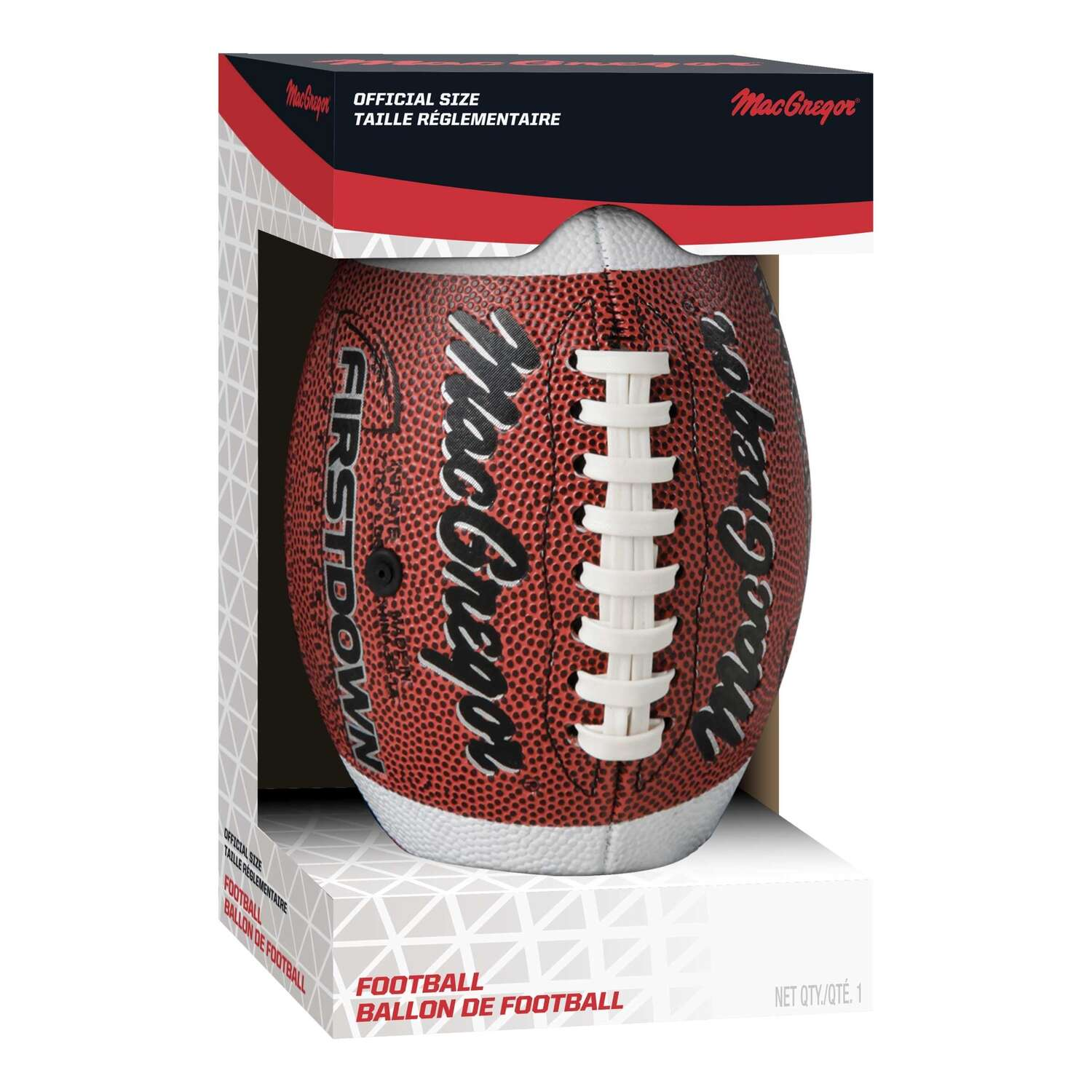 MacGregor  Firstdown  Size 7  10-12 year Football