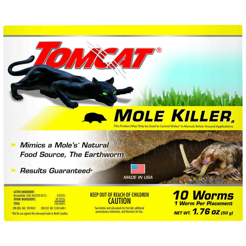 Tomcat  Medium  Bait  For Moles 10 pk