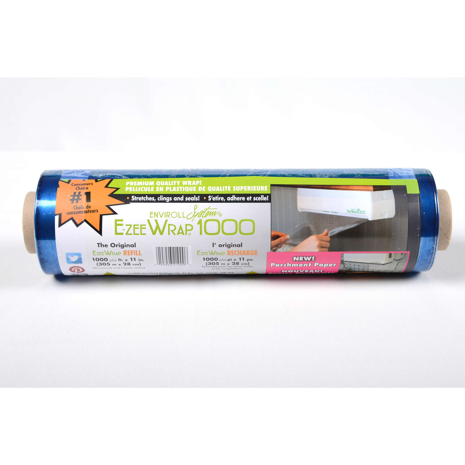 E-Zee Wrap  Cling Wrap  1 pk Blue