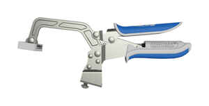Kreg Tool  Automaxx  3 in.  x 3 in. D Metal  Bench Clamp  Silver