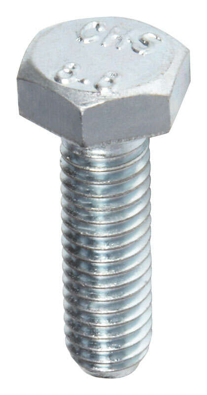 Hillman  M6-1.00 mm Dia. x 20 mm L Heat Treated  Steel  Hex Head Cap Screw  50 pk