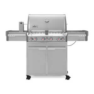 Weber  Summit S-470  4 burners Propane  Stainless Steel  Grill  48800 BTU