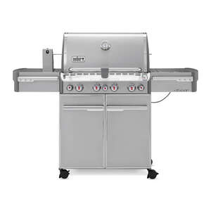 Weber  Summit S-470 4 Burner  4 burners Propane  Stainless Steel  Grill  48800 BTU