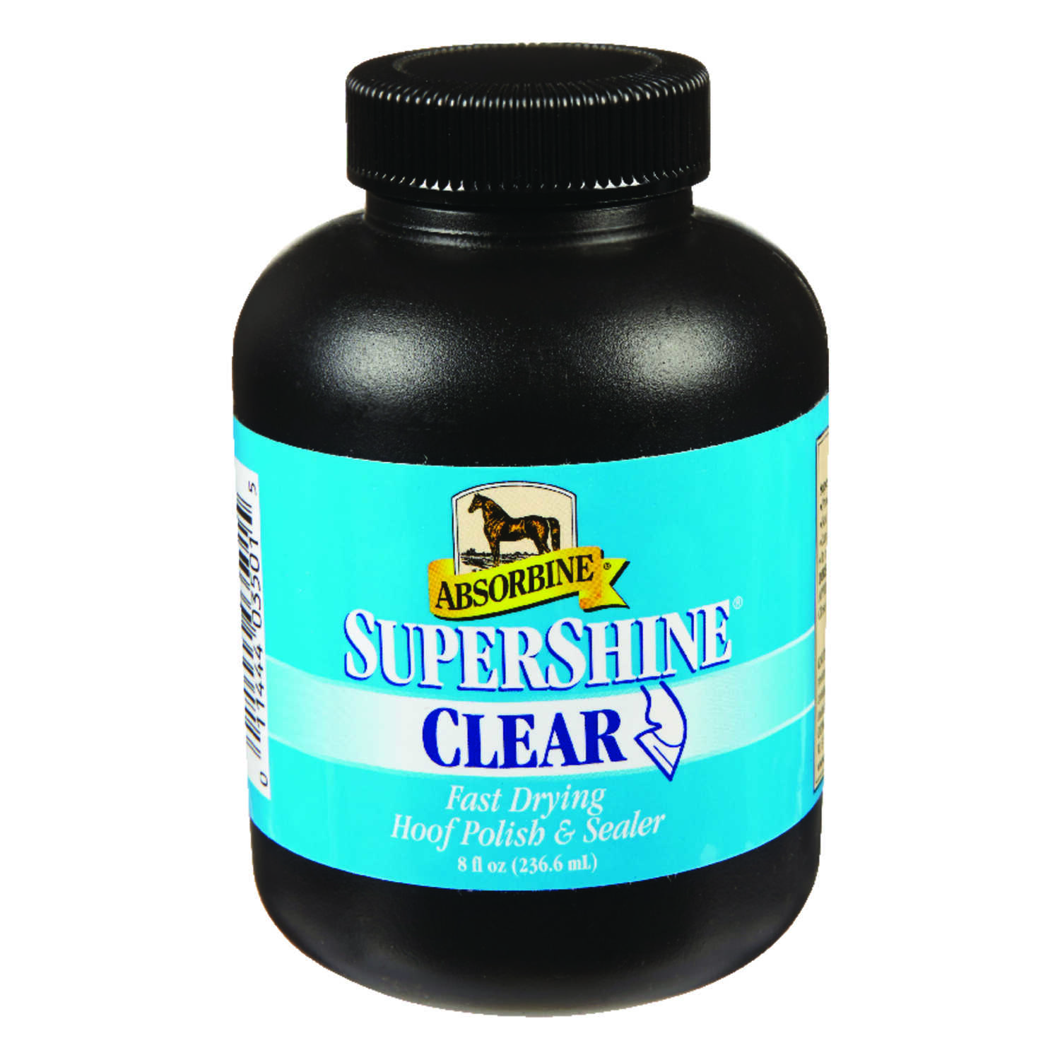 Absorbine  Supershine  Liquid  Clear Hoof Polish and Sealer  For Horse 8 oz.