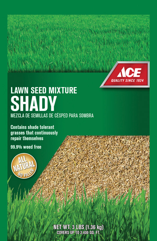Ace  Ace Shady  Mixed  Lawn Seed Mixture  3 lb.