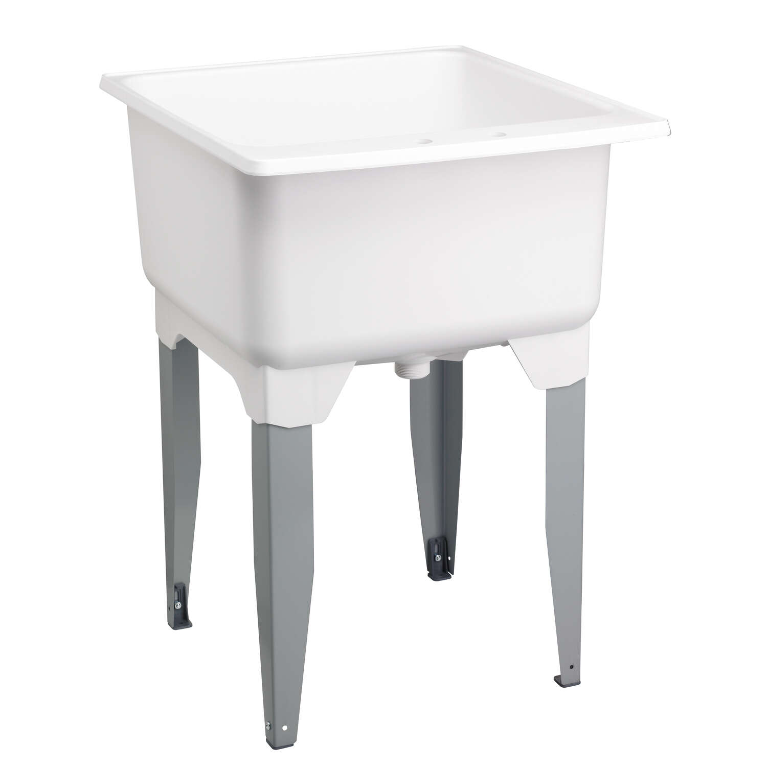 Mustee Laundry Tub Single Bowl 34 in. x 23 in. x 25 in. 20 gal.