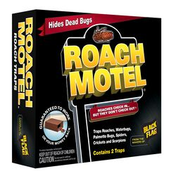 Black Flag Roach Motel Insect Trap 2 pk