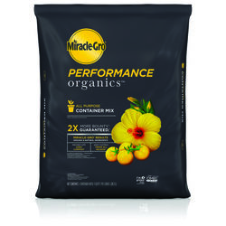 Miracle-Gro  Performance  Organic 0.19-.0.3-0.03  Container Mix