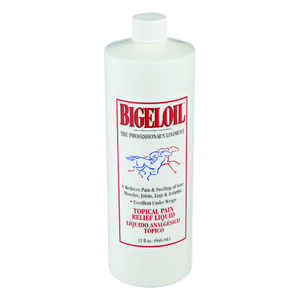 Bigeloil  Liquid  Topical Pain Relief Rub  For Horse 1 qt.