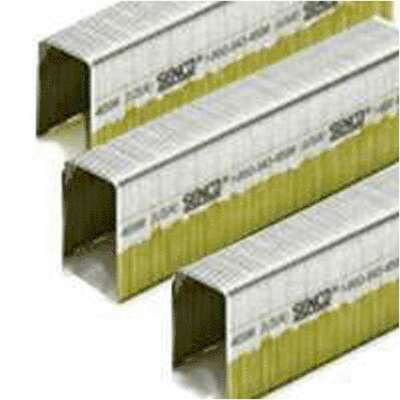 Senco  2 in. L Stainless Steel  Steel  Wire Staples  16 Ga.