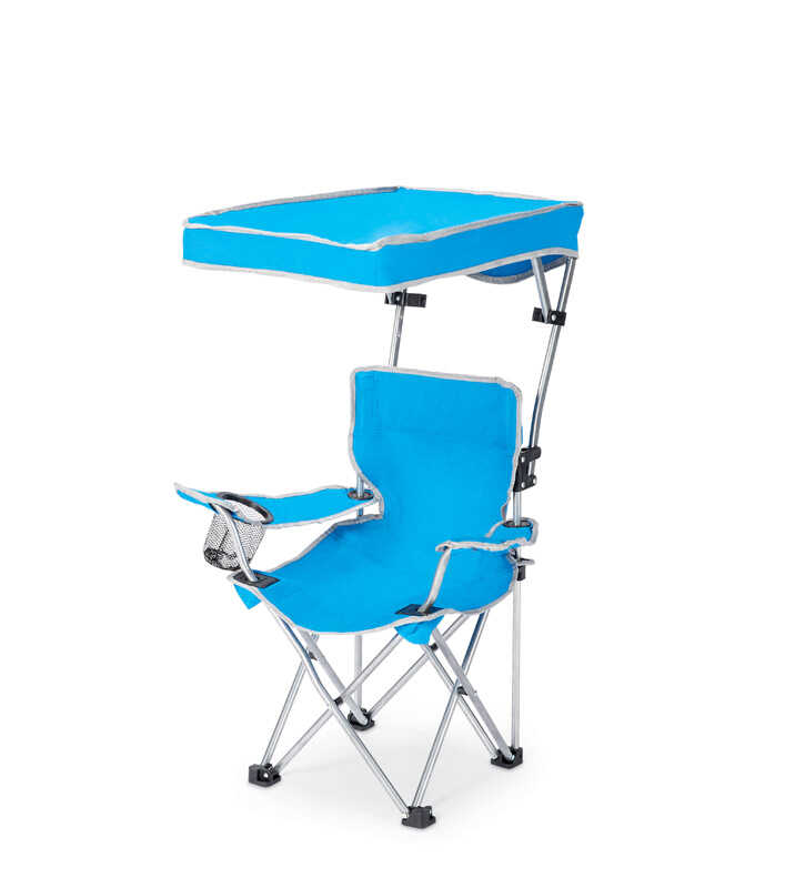 Phenomenal Quik Shade Adjustable Blue Canopy Folding Kids Chair Ace Machost Co Dining Chair Design Ideas Machostcouk