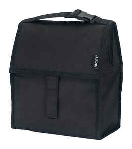 PACKIT  Lunch Bag Cooler  10  Black  1 pk