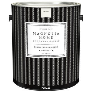 Magnolia Home  KILZ  Semi-Gloss  Shiplap  Cabinet and Trim Paint  1 gal.
