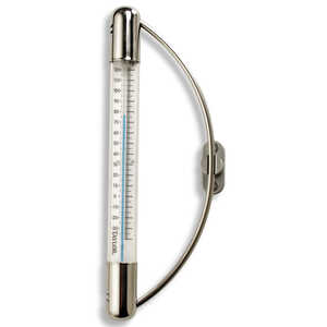 Taylor  Tube Thermometer  Metal  White