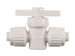 Flair-It  1/2 in. 1/2 in.  Plastic  Supply Valve